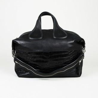 Givenchy Nightingale Black Leather Handbags