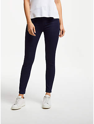 7 For All Mankind Slim Illusion Luxe Jeans, Rinse Blue