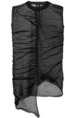 Rick Owens Row abstract tunic