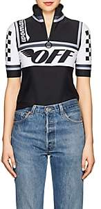 Off-White Women's Logo Cycling Top-Black
