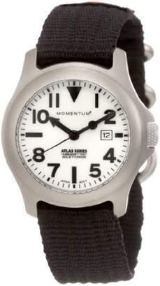 Momentum Women's 1M-SP01W8B Atlas Dial Re-Ply Nylon Strap Watch