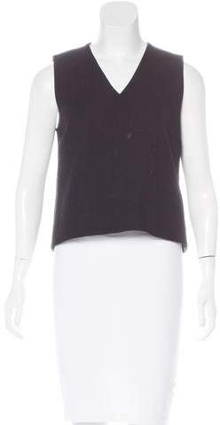 Kate Spade Kate Spade New York Sleeveless Wool-Blend Top