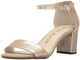 Anne Klein Women's Camila Leather Heeled Sandal