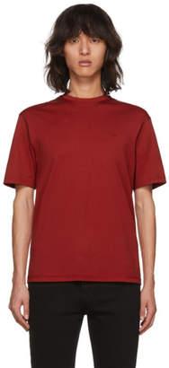 Christian Dada Red Mini Logo T-Shirt