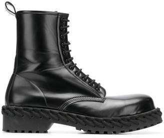 Balenciaga lace-up ankle boots
