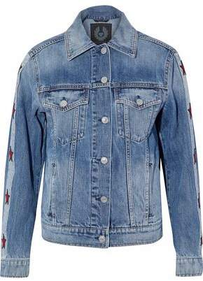 Belstaff Embroidered Denim Jacket