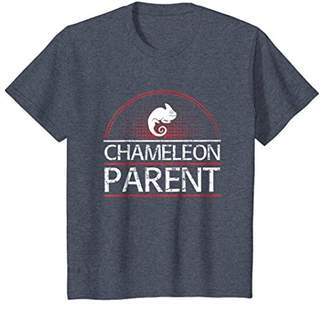Chameleon Parent Pet Animal Love Family T-Shirt