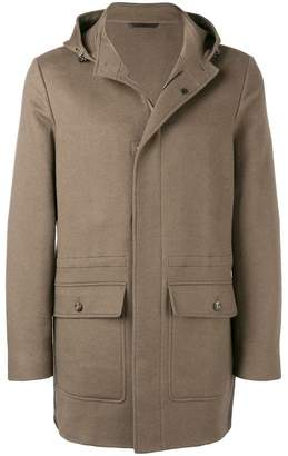 Loro Piana hooded mid-length coat