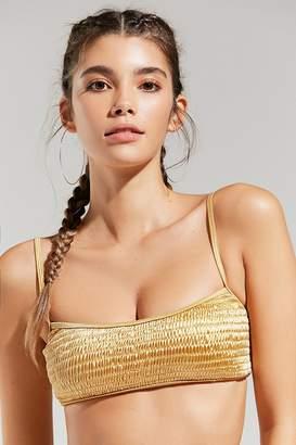 Evil Twin Elevate Smocked Bikini Top