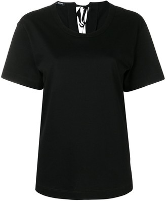 Jil Sander Navy round neck T-shirt