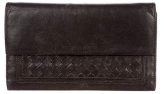 Bottega Veneta Vintage Intrecciato Travel Wallet
