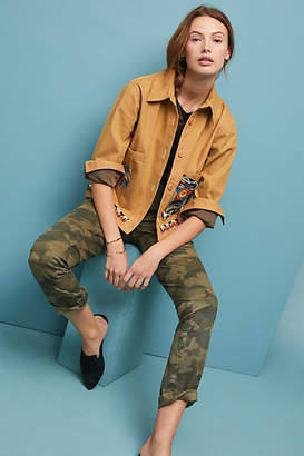 Anthropologie Chino by Relaxed Camo Chino Pants