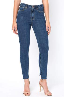 Ella Moss High Rise Back Seam Skinny Ankle Jean