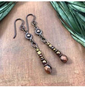Vintage Earth Vintage Nouveau Earrings
