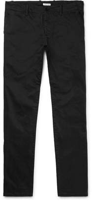 Tomas Maier Slim-Fit Brushed Stretch-Cotton Twill Chinos