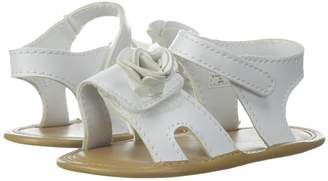 Baby Deer Soft Sole Sandal with Flower Girls Shoes