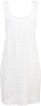 Derek Lam strapped fitted dress