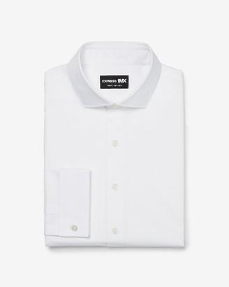 Express Slim Stretch Cotton French Cuff 1Mx Dress Shirt