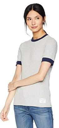 Calvin Klein Jeans Women's 3/4 Sleeve Skater Rib T-Shirt