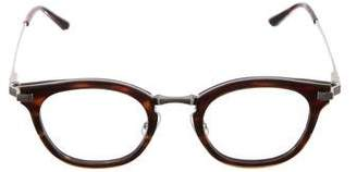 Gentle Monster Tortoiseshell Round-Frame Eyeglasses