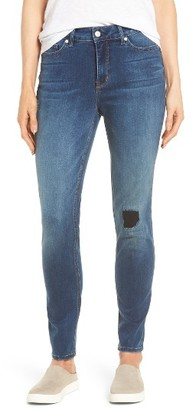 Women's Nydj Ami Distressed Stretch Skinny Jeans $158 thestylecure.com