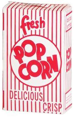 Great Northern Popcorn Company Great Northern .75-oz. Popcorn Boxes