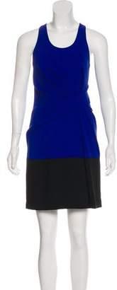 Alexander Wang Draped Colorblock Dress