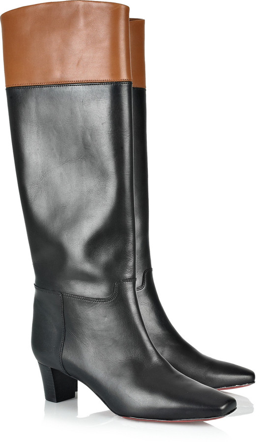 Christian Louboutin Cavaliere 45 knee-high leather boots