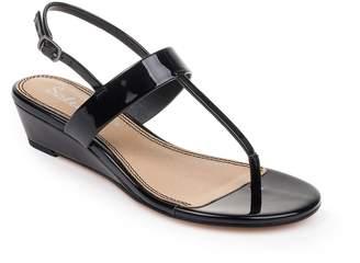Splendid Swain T-Strap Wedge Sandal