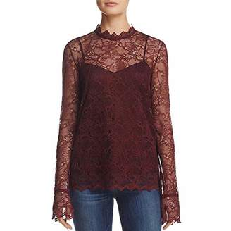 Theory Women's Long Sleeve Lace Top