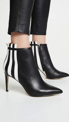 Rachel Zoe Taylor Stripe Ankle Boots