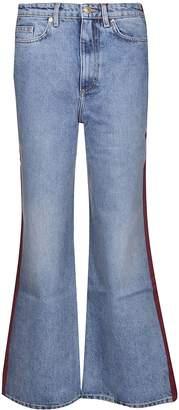 Tommy Hilfiger Contrasting Back Flared Jeans
