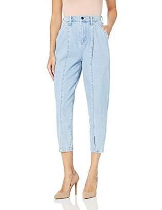 BCBGMAXAZRIA Women's Denim Trouser Jean