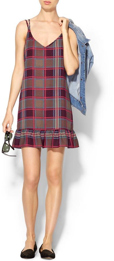 Pim + Larkin Plaid Tank Dress