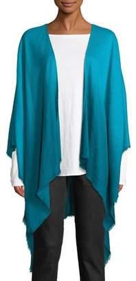 Eileen Fisher Ombre Wool/Silk Wrap