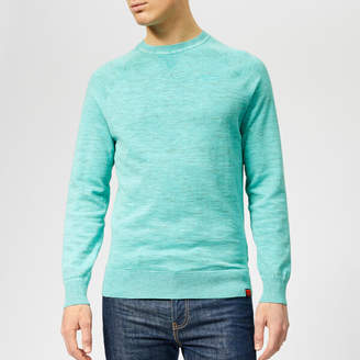 Men's Garment Dye L.A Crew Neck Jumper