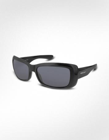 Giorgio Armani Signature Rectangular Plastic Sunglasses
