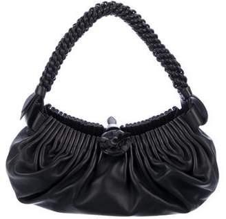 Bottega Veneta Ruched Jardin Shoulder Bag