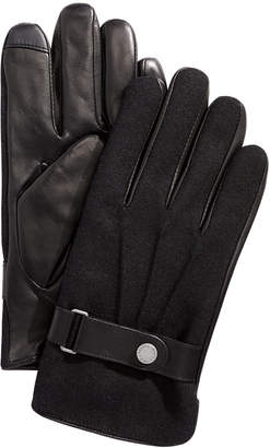 Polo Ralph Lauren Men Melton Hybrid Touch-Screen Gloves