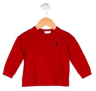 Ralph Lauren Boys' Knit Long Sleeve Shirt