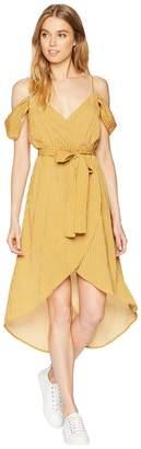 J.o.a. Cold Shoulder Wrap Dress Women's Dress