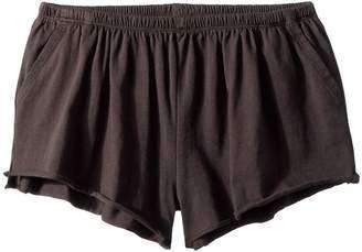Chaser Kids Jersey Shirred Flounce Shorts Girl's Shorts