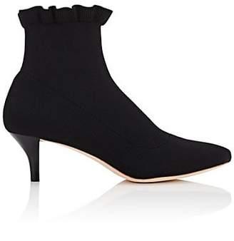 Loeffler Randall Women's Kassidy Knit Ankle Boots - Black