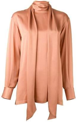Lanvin scarf detail blouse