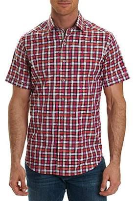 Robert Graham Men's Tangier Classic Fit Cotton Sport Shirt