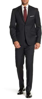Nordstrom Rack Textured Solid Trim Fit Wool Suit