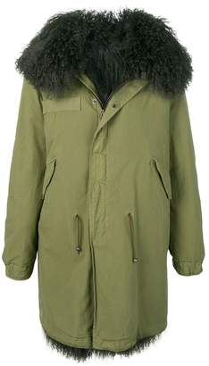 Mr & Mrs Italy shearling-lined parka