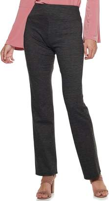 Apt. 9 Women's Tummy Control Pull-On Ponte Bootcut