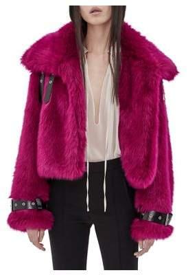 Mo&Co. Faux Fur Coat