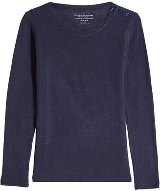 Majestic Cashmere Pullover with Wool